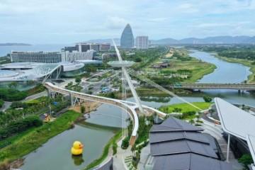 三亚国际免税城迎六岁生日 一期二期双城同庆